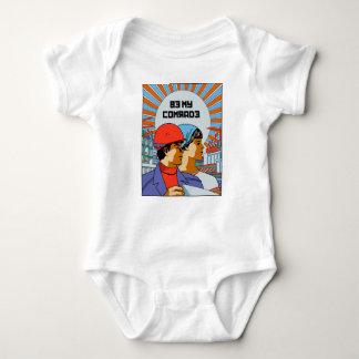 Be My Comrade Baby Bodysuit
