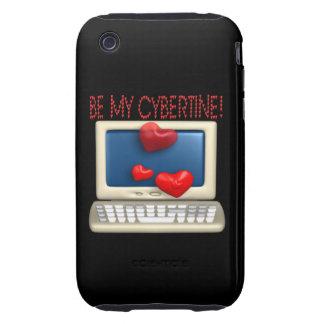 Be My Cybertine iPhone 3 Tough Case