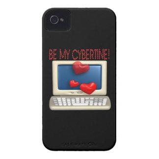 Be My Cybertine iPhone 4 Cases