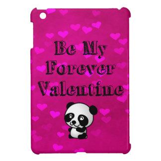 Be My Forever Valentine Panda Bear iPad Mini Cases