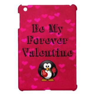 Be My Forever Valentine Penguin iPad Mini Cover