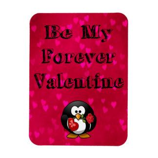 Be My Forever Valentine Penguin Magnet