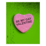 Be My Gay Valentin Posters