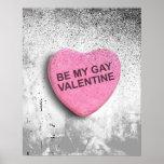 Be My Gay Valentin Print