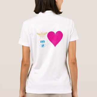 Be My Love Rebus Illustration Polo Shirts