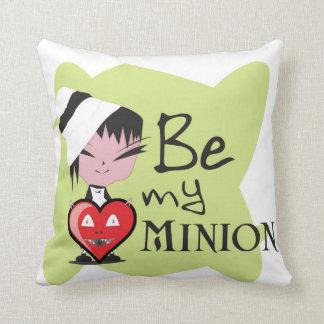 Be My Minion! Throw Pillow