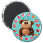 Be My Prime Mate Monkey Personalized Magnet