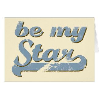 Be my Star Card