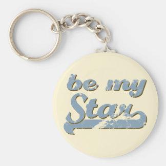 Be my Star Keychain