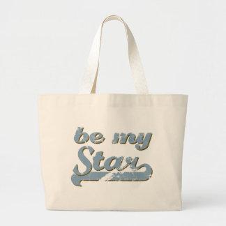 Be my Star Large Tote Bag