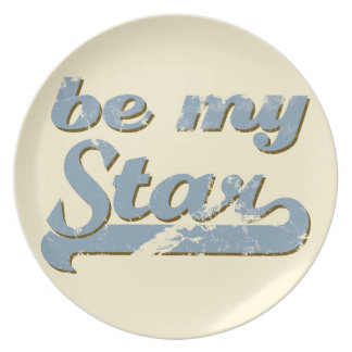 Be my Star Plate
