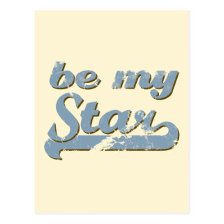 Be my Star Postcard