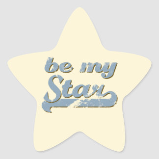 Be my Star Star Sticker