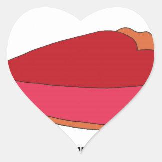 Be My Sweety Pie Heart Sticker