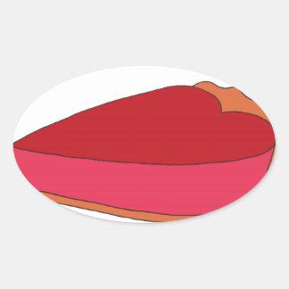 Be My Sweety Pie Oval Sticker
