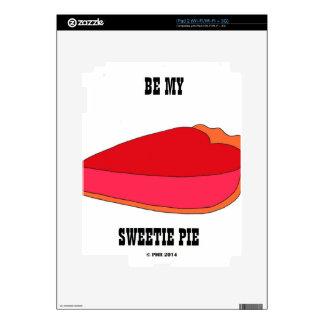Be My Sweety Pie iPad 2 Skin