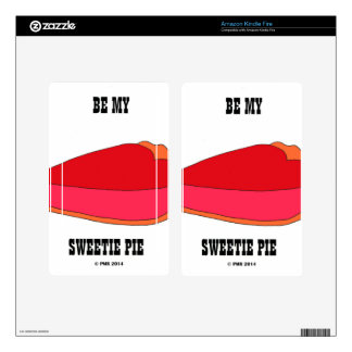 Be My Sweety Pie Skin For Kindle Fire