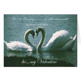 be my valantine card