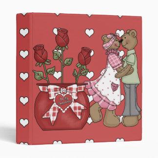 Be My Valentine! 3 Ring Binder