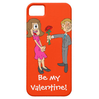 Be my Valentine 4 iPhone SE/5/5s Case