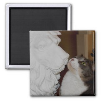 Be My Valentine All year 2 Inch Square Magnet