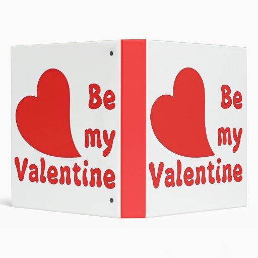 be my valentine binder