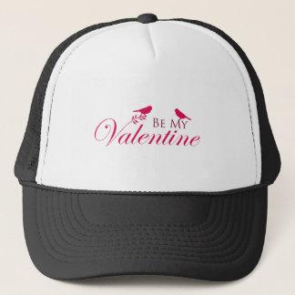 Be My Valentine Birds Trucker Hat