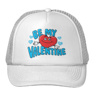 BE MY VALENTINE (Blue) Trucker Hat
