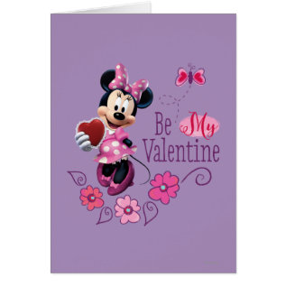 Be My Valentine Card at Zazzle