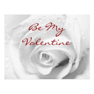 Be My Valentine Card Postcard