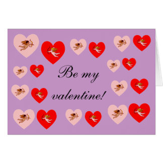 Be my valentine! cards