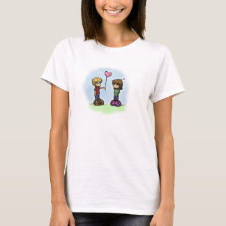 """""""Be My Valentine"""" Chibi Love T-Shirt"""