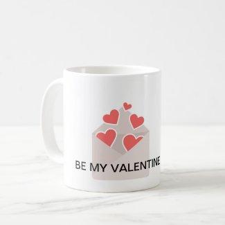 Be My Valentine Classic Mug