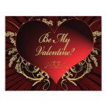 Be My Valentine Custom Invitations