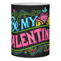 Be My Valentine Customized Flameless Candle