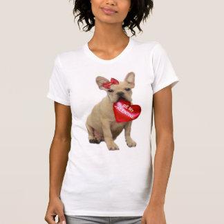 Be My Valentine French Bulldog Tank top