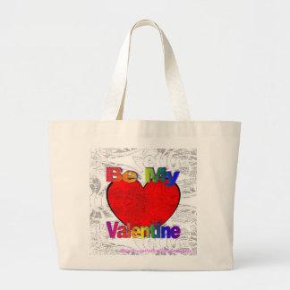 Be My Valentine - Get Lost Jumbo Tote Bag