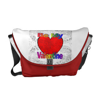 Be My Valentine - Get Lost Courier Bag