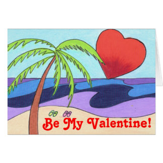 Be My Valentine! greeting card
