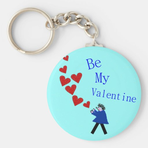 Be My Valentine Key Chain
