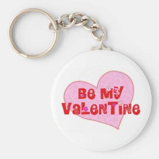 Be My Valentine Keychain
