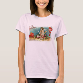 Be My Valentine Ladies Baby Doll Shirt (Fitted)