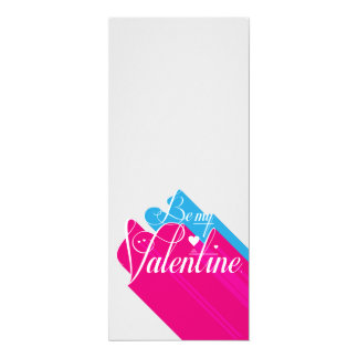 Be My Valentine Long Shadow Card