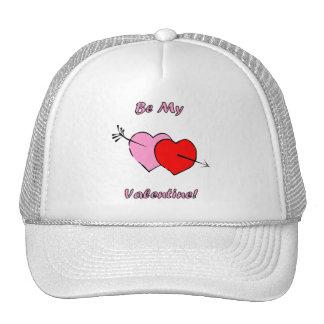 Be My Valentine Mesh Hats