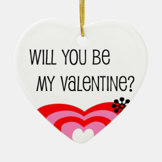 Be My Valentine Ornaments