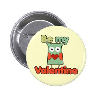 Be my Valentine Owl Pins