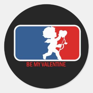 Be my Valentine Parody Sticker
