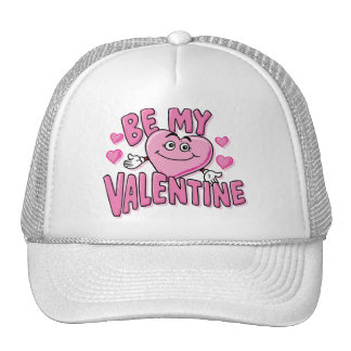 BE MY VALENTINE (Pink) Trucker Hat