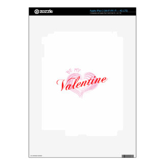 Be My Valentine Skins For iPad 3