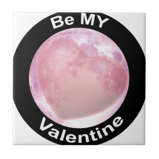 Be My Valentine Small Square Tile